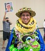 """Kapiolani CC 2019 graduate (and photobomber). (Photo credt: Shari Tamashiro) Kapiolani Community College celebrated spring commencement on Friday, May 10, 2019 at the Hawaii Convention Center. More photos: <a href=""""https://kapiolanicc.smugmug.com/Commencement/Commencement-2019"""" rel=""""noreferrer nofollow"""">kapiolanicc.smugmug.com/Commencement/Commencement-2019</a>"""