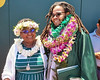 University of Hawaii at Manoa Academy of Creative Media graduate Kimani H. Shabazz and his mom Roxie Shabazz at commencement ceremony on Saturday, May 11, 2019.