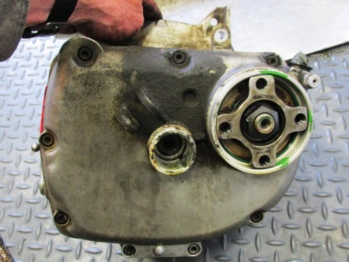 Transmission Rear Cover Detail