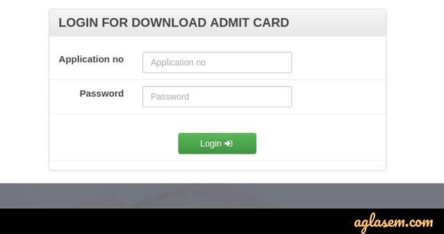 Assam CEE 2019 Admit card