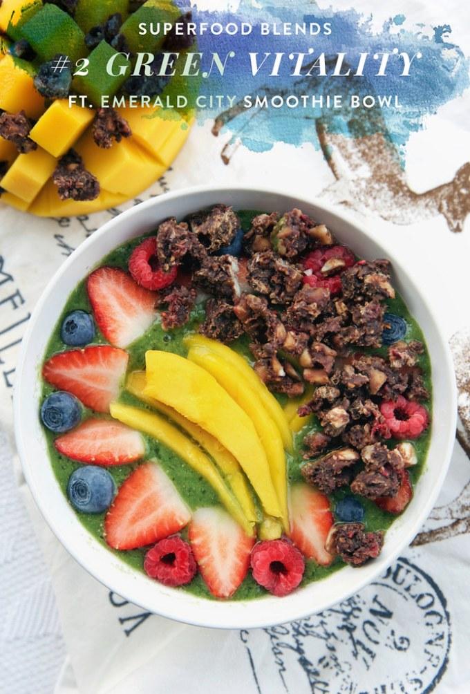 Superfood Blends: Green Vitality & Emerald City