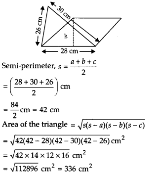 NCERT Solutions for Class 9 Maths Chapter 12 Heron's Formula Ex 12.2 A4