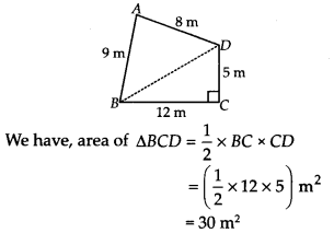 NCERT Solutions for Class 9 Maths Chapter 12 Heron's Formula Ex 12.2 A1