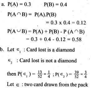 Plus Two Maths Chapter Wise Previous Questions Chapter 13 Probability 6