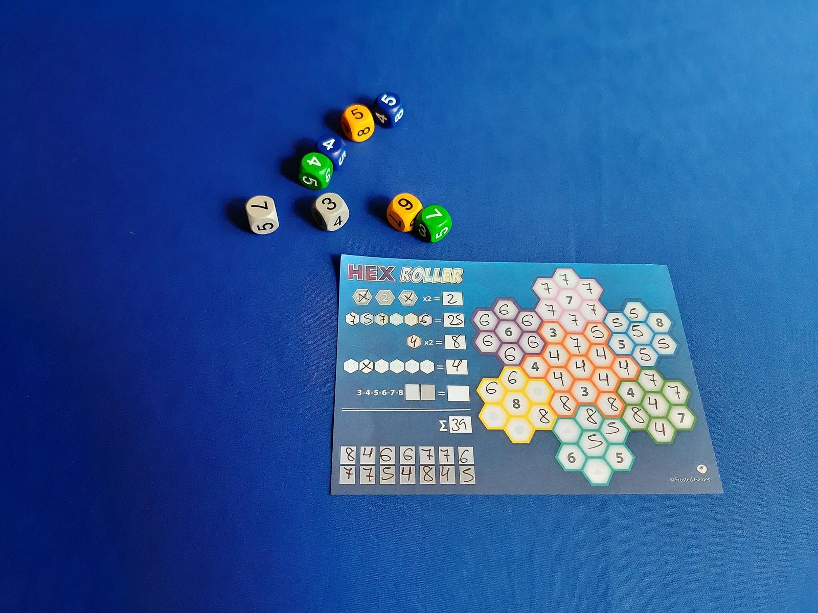 hexroller juego de mesa