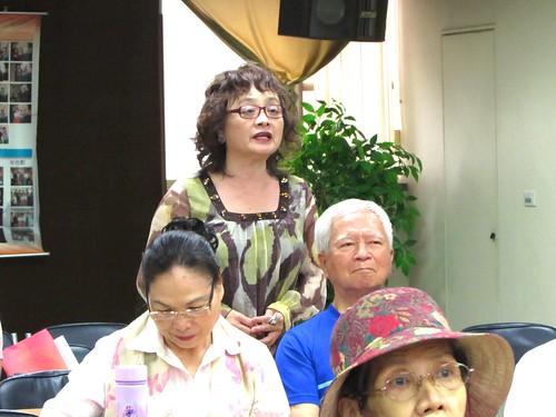 學員詢問黃聯昇,若有機會重來,是否仍會選擇外交官為己職?/照片由終身教育部提供