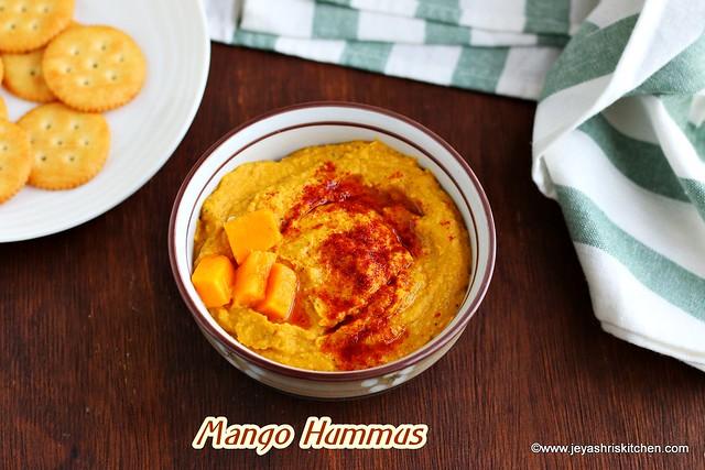 Mango hummus recipe