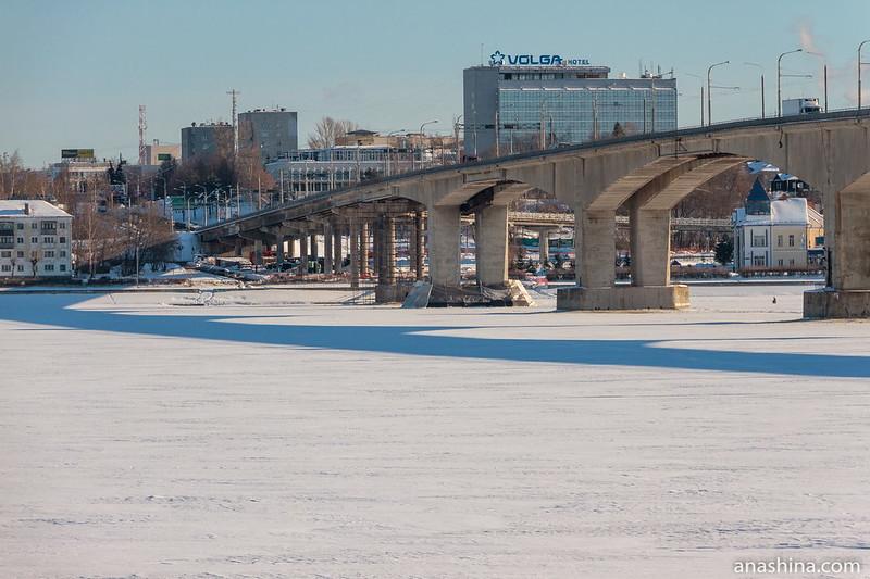 Мост через Волгу, Кострома