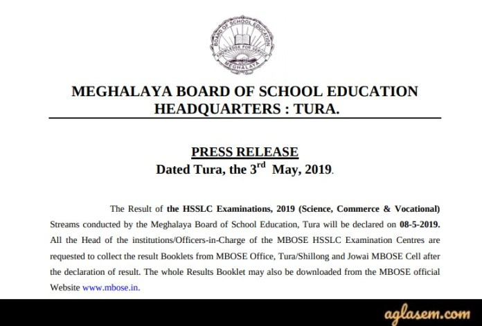 MBOSE Result 2019 | Meghalaya Board 10th, 12th Result 2019- Available