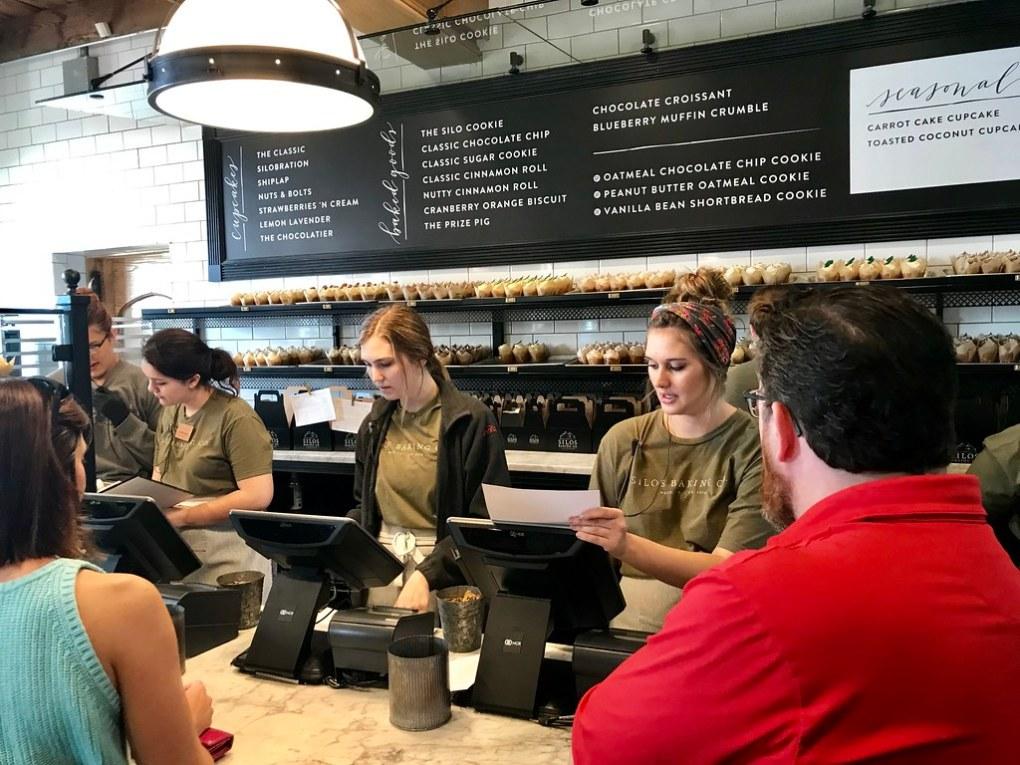 Magnolia Bakery at the Silos, Waco, TX May 2019