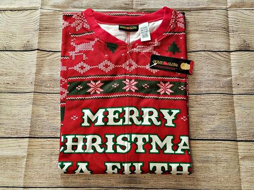 New Ugly Christmas Pajamas & Adult Onesies Review @uglyXsweater @SMGurusNetwork #MOMDADGRAD19 #MySillyLittleGang