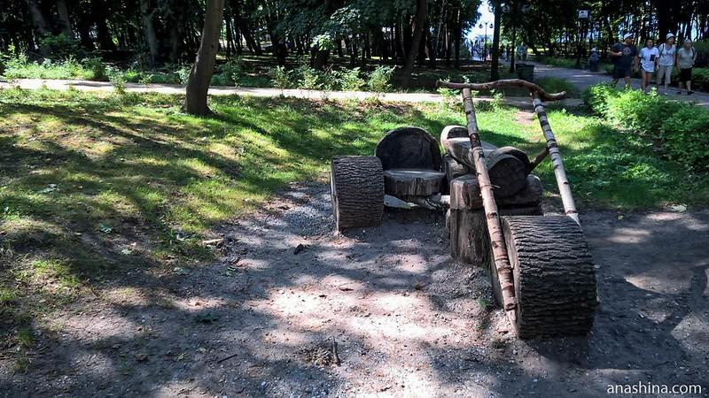 Парк имени Беккера, Янтарный
