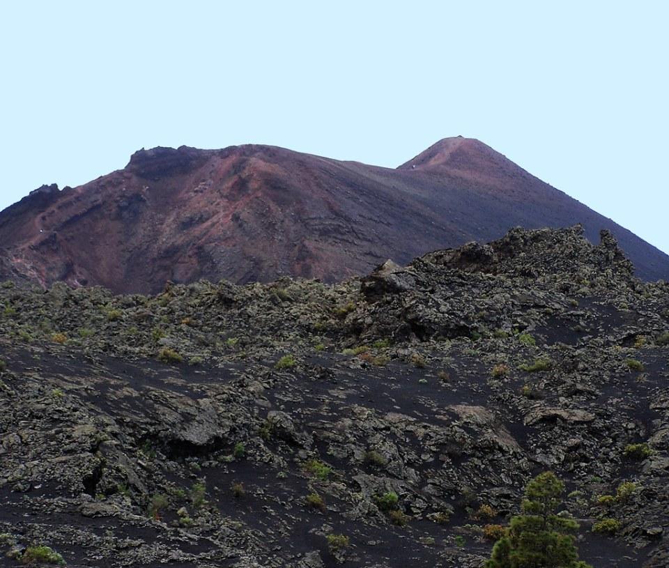 Volcan Teneguia Isla de La Palma
