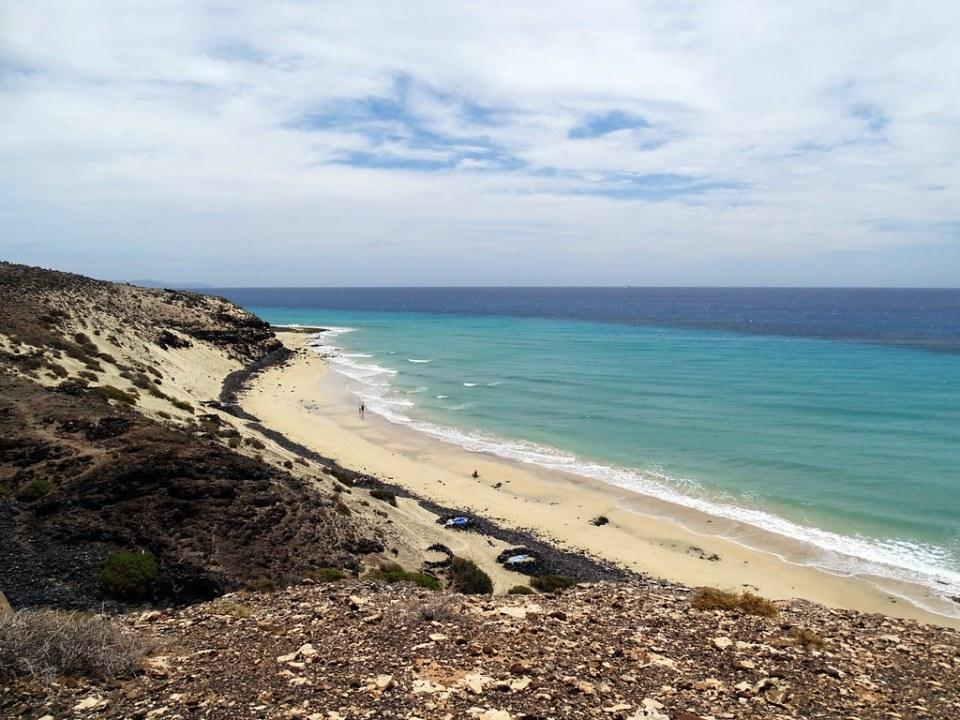 Playas en Sotavento Isla de Fuerteventura 15