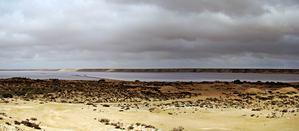 Lago Salado Sabkhta TAH Desierto del Sahara 02
