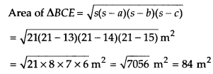 NCERT Solutions for Class 9 Maths Chapter 12 Heron's Formula Ex 12.2 A9b