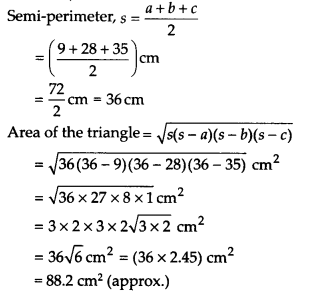 NCERT Solutions for Class 9 Maths Chapter 12 Heron's Formula Ex 12.2 A8