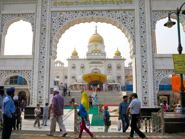 Templo Sikh en Nueva Delhi