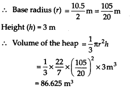 NCERT Solutions for Class 9 Maths Chapter 13 Surface Areas and Volumes Ex 13.7 Q9
