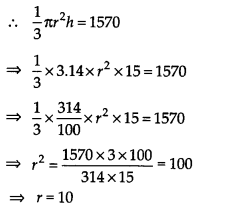 NCERT Solutions for Class 9 Maths Chapter 13 Surface Areas and Volumes Ex 13.7 Q3