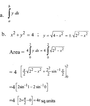 Plus Two Maths Chapter Wise Previous Questions Chapter 8 Application of Integrals 7