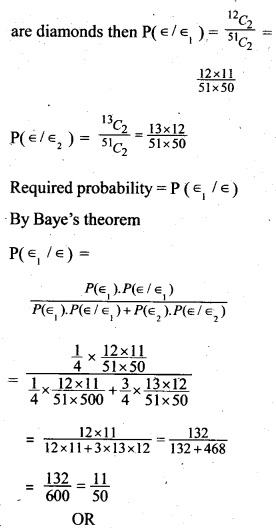 Plus Two Maths Chapter Wise Previous Questions Chapter 13 Probability 7