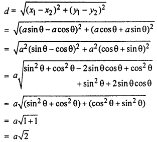 RBSE Solutions for Class 10 Maths Chapter 9 Co-ordinate Geometry 3Q.1