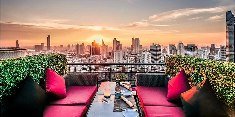泰國曼谷高空酒吧 | Zoom Sky Bar & Restaurant-安納塔拉酒店360度浪漫景觀高空酒吧。