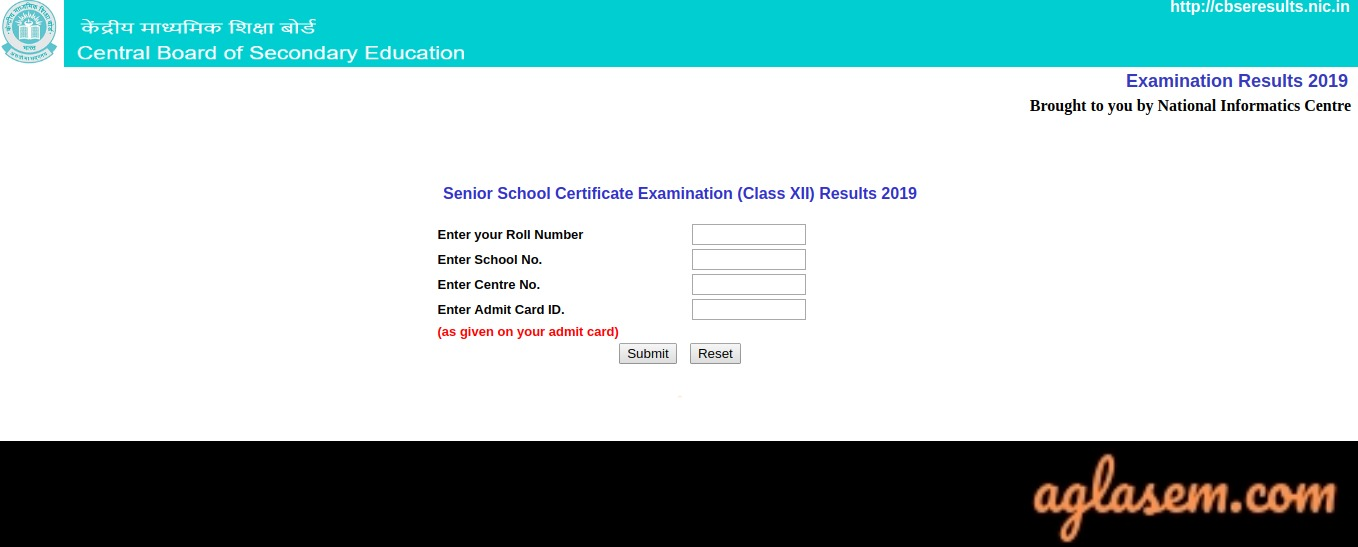 CBSE 12 Class Result 2019 (Announced) - Check Here | AglaSem