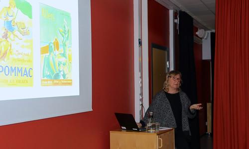 Marianne Larsson, fil. dr. och intendent på Nordiska Museet