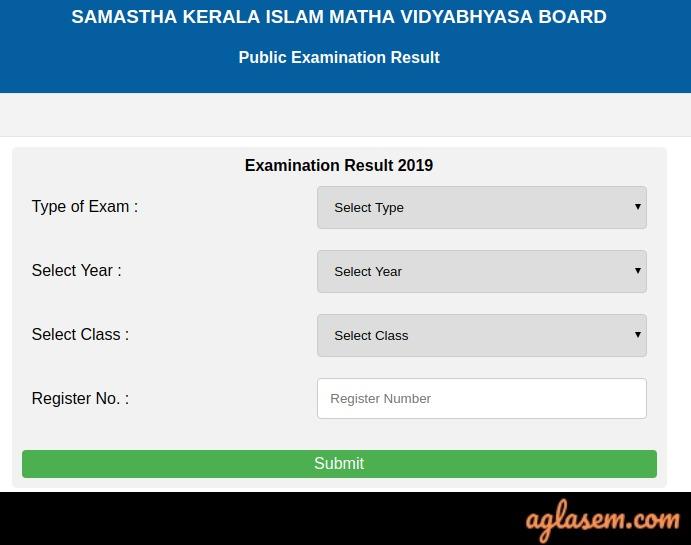 Kerala Samastha Result 2019