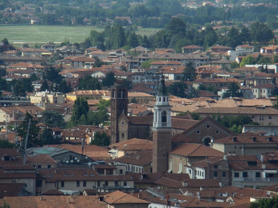 Vicenza Iglesia de San Felipe Negros Italia 10