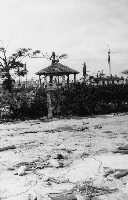 Gazebo on Guam, 1944