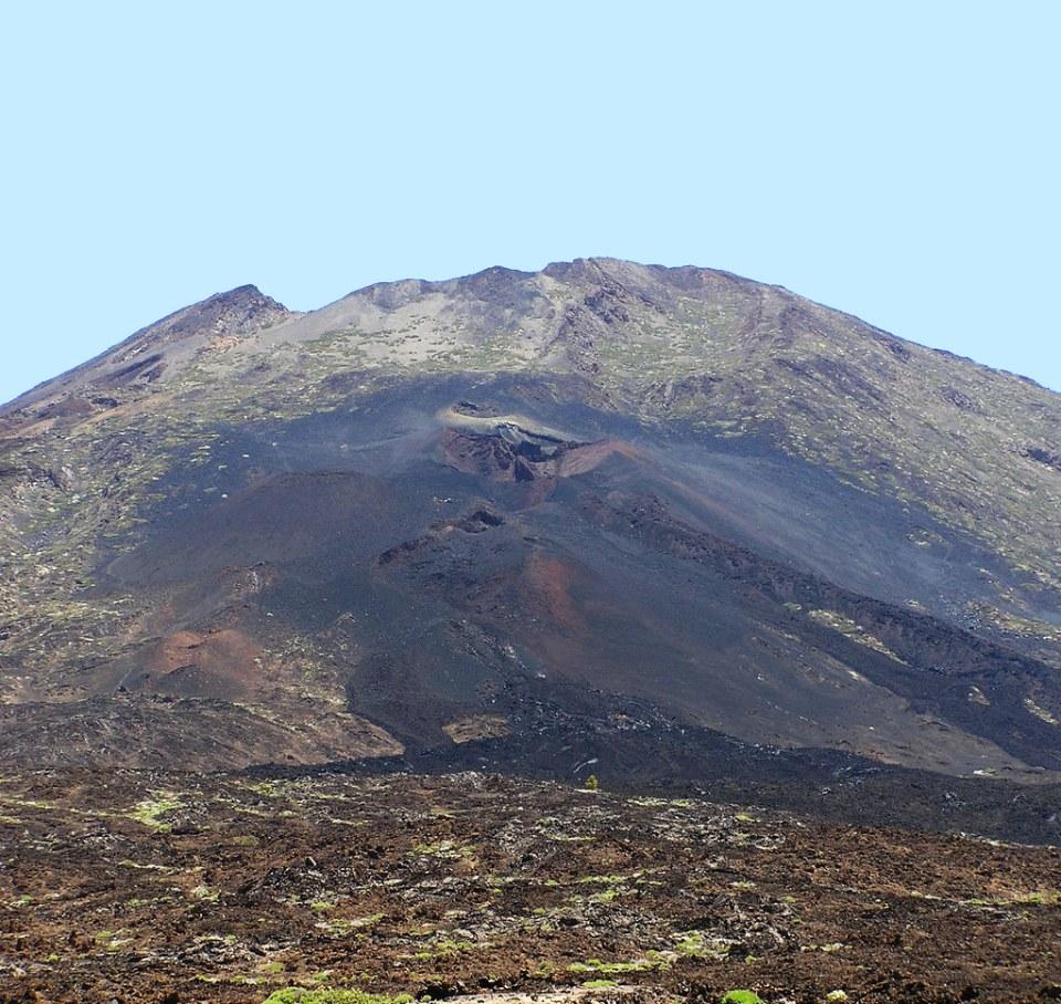 Pico Viejo o Montaña Chahorra Parque Nacional del Teide isla de Tenerife 130