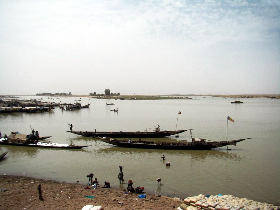 Puerto de Mopti Mali 07