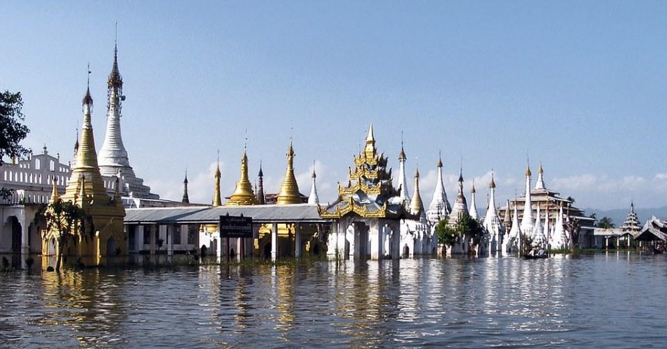 pagoda Angun Mingalar Ywama Lago Inle Myanmar Birmania 23