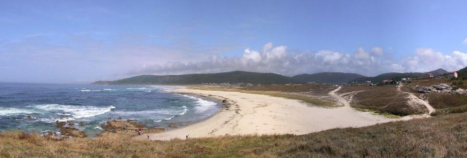 panoramica playa Costa da Morte Laxe a Camelle La Coruña Galicia 08