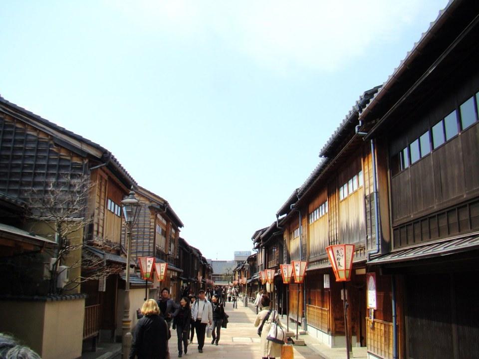 Kanazawa barrio de las Geishas Japon 07