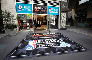 NBA All-Star Weekend Graphics Display
