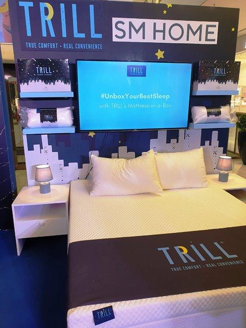 URATEX TRILL mattress-in-a-box