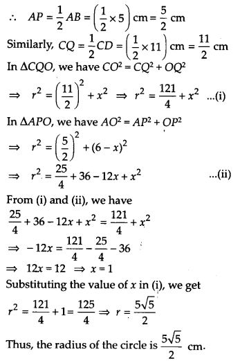 NCERT Solutions for Class 9 Maths Chapter 10 Circles Ex 10.6 A2a