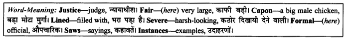 NCERT Solutions for Class 9 English Literature Chapter 10 The Seven Ages 5