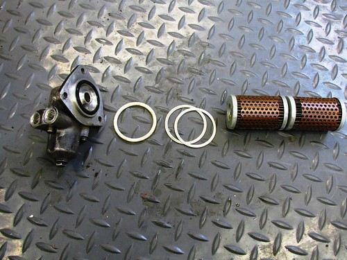 Oil Filter Cover Component Detail