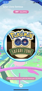 Pokémongo Safari Zone - Sentosa April 2019