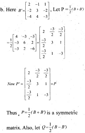 Plus Two Maths Chapter Wise Previous Questions Chapter 3 Matrices 1
