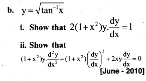 Plus Two Maths Chapter Wise Previous Questions Chapter 5 Continuity and Differentiability 36