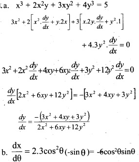 Plus Two Maths Chapter Wise Previous Questions Chapter 5 Continuity and Differentiability 13
