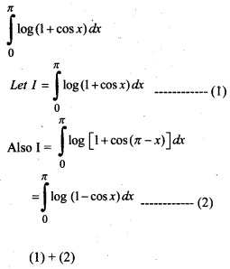 Plus Two Maths Chapter Wise Previous Questions Chapter 7 Integrals 18