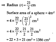 NCERT Solutions for Class 9 Maths Chapter 13 Surface Areas and Volumes Ex 13.4 Q2a