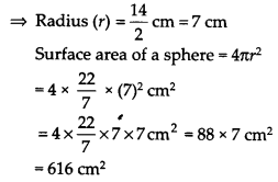 NCERT Solutions for Class 9 Maths Chapter 13 Surface Areas and Volumes Ex 13.4 Q2